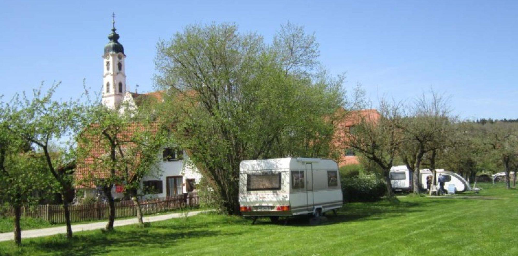 Campingplatz von Steinhausen